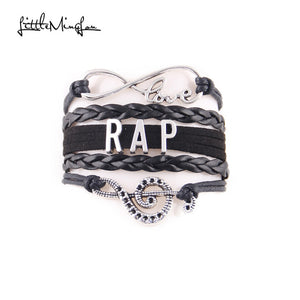 Rap music Bracelet (Black)