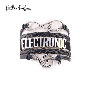 Electronic music Bracelet (Black)