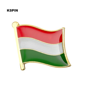 Country flag lapel pin badge pin Customer mixed order 10pcs a lot