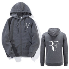 RF Letters sweatshirt long Sleeve Slim fit Hoodies Jacket Male