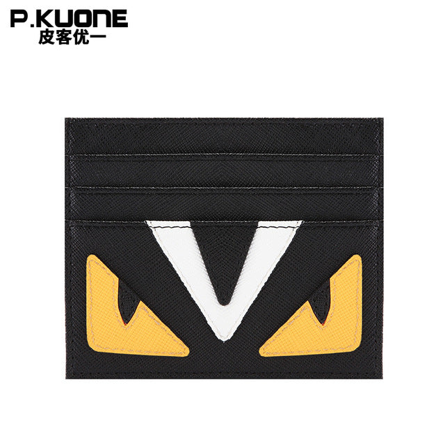 Small Monster Shape Design Business Credit Card Holder Bag
