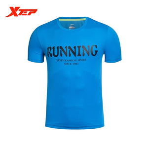 Running Men Short Sleeve Outdoor Breathable Sport T Shirt