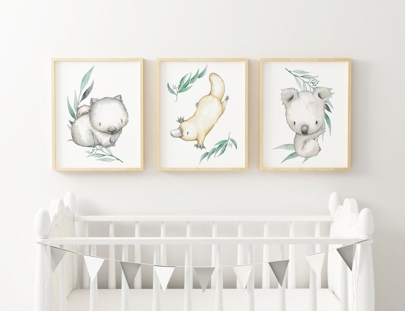 Neutral Nursery Prints