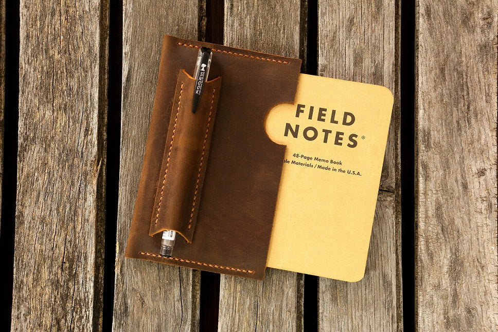 Pocket Sized Field Notes Leather Sleeve