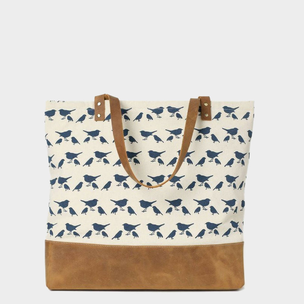 Sydenham Two-Toned Canvas Tote - Odessie