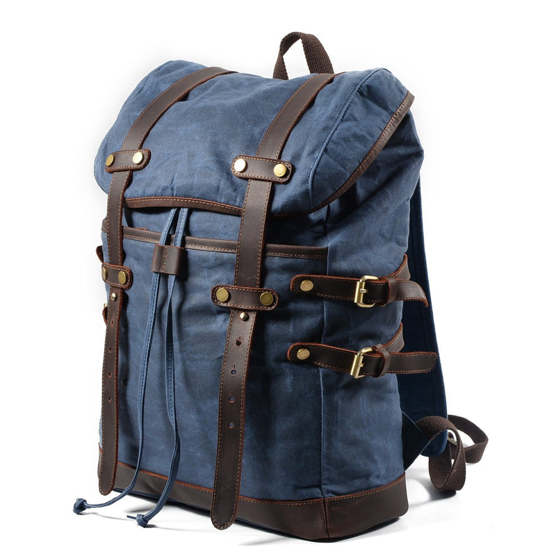 Waxed Canvas Backpack // Mason