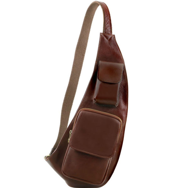 Harrow Leather Sling Bag - Odessie