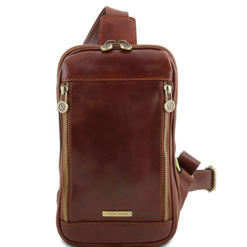 Martin Leather Sling Bag - Odessie