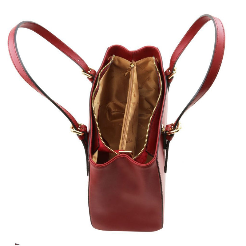 Aura Leather Handbag