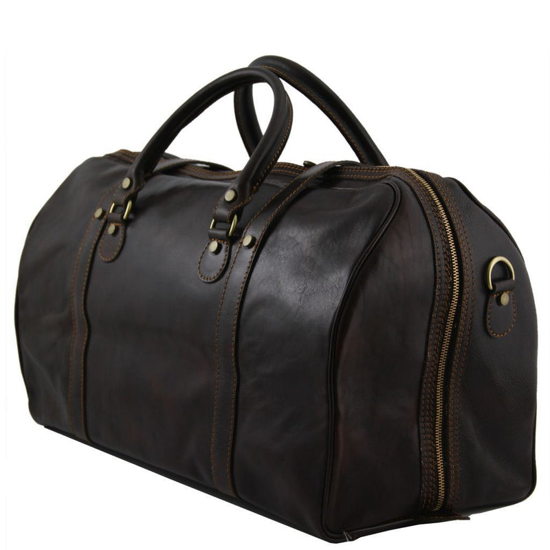 Berlin Leather Duffle Bag - Large Size - Odessie