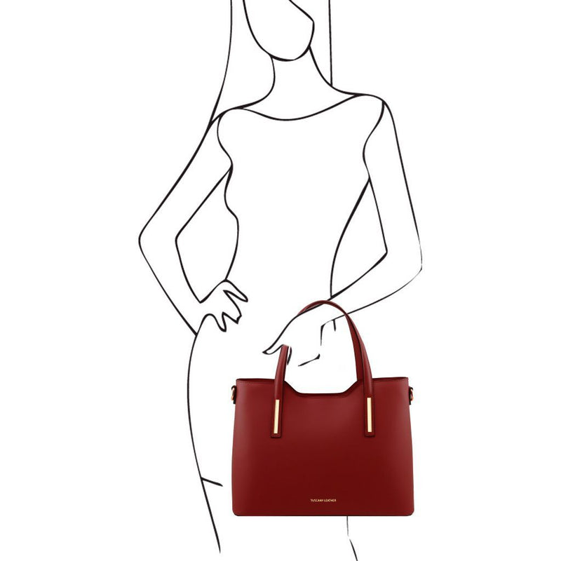Olimpia Leather Tote