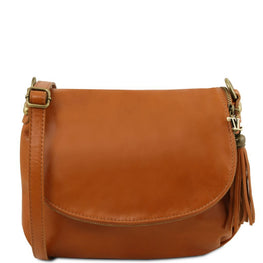Albori Soft Leather Shoulder Bag - Odessie
