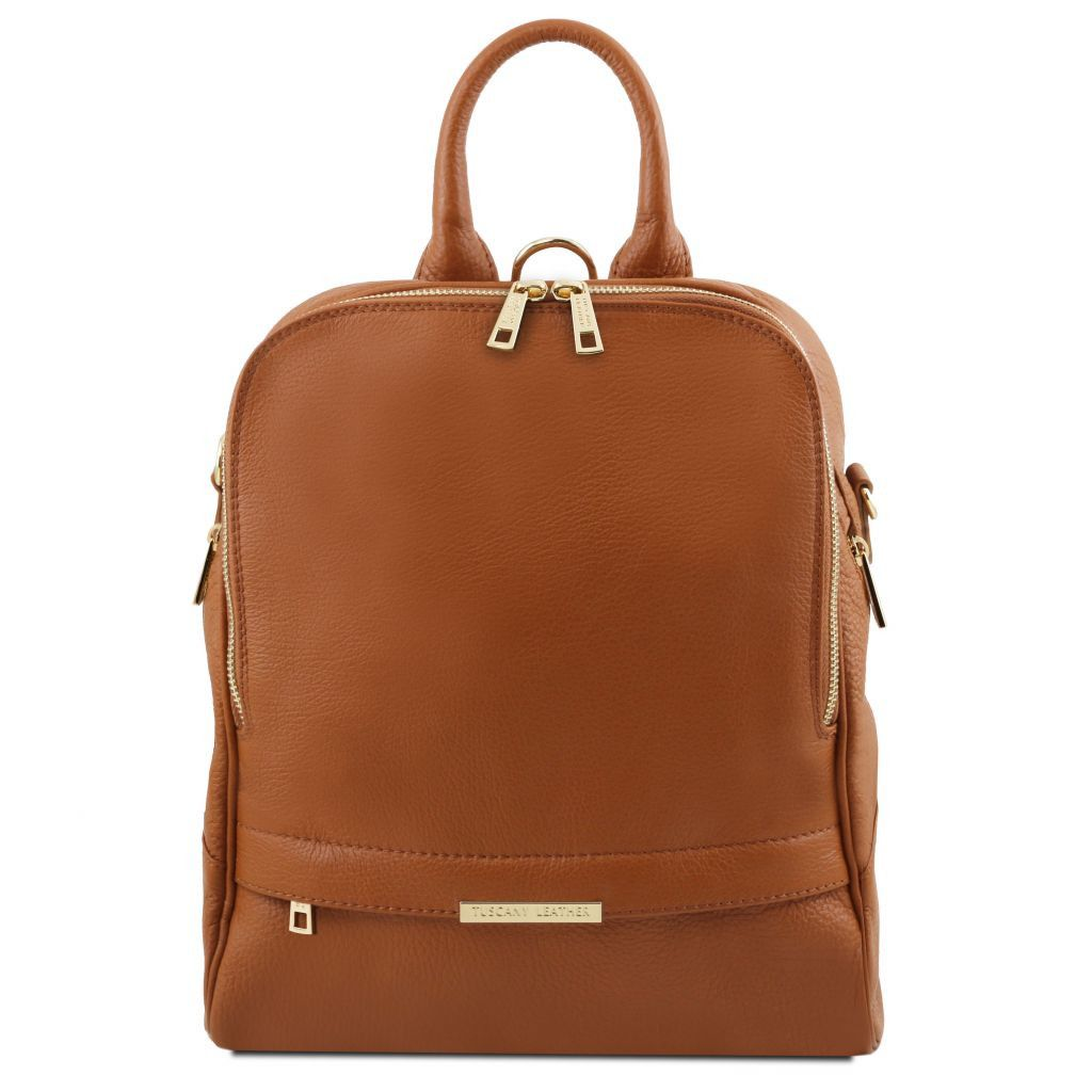 Aurora Leather Backpack - Odessie