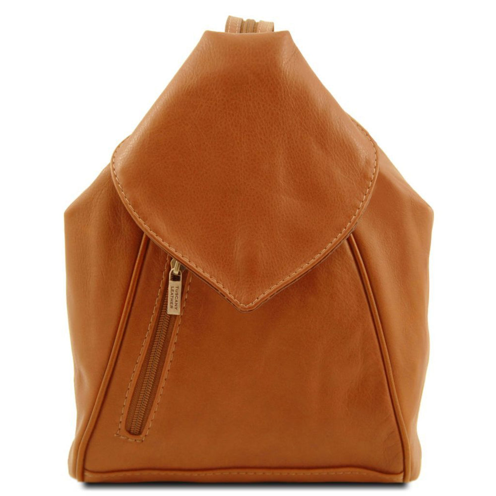 Delhi Leather Backpack - Odessie