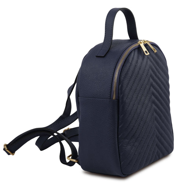 Bergamo Leather Backpack