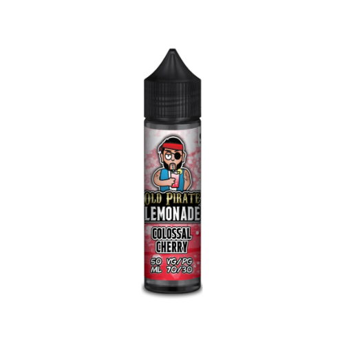Old Pirate Lemonade Colossal Cherry - 50ml Shortfill E Liquid