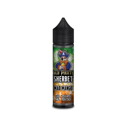 Old Pirate Sherbet Mad Mango - 50ml Shortfill E Liquid