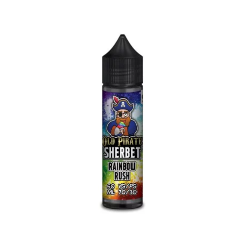 Old Pirate Sherbet Rainbow Rush - 50ml Shortfill E Liquid