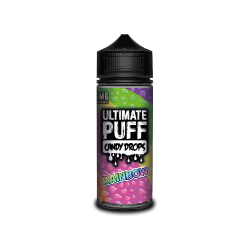 Ultimate Puff Candy Drops Rainbow - 100ml Shortfill E Liquid