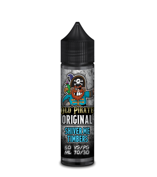 Old Pirate Original Shiver Me Timbers  - 50ml Shortfill E Liquid