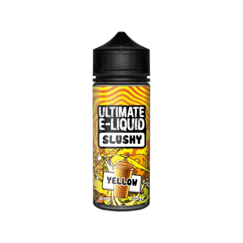 Ultimate E-Liquid Slushy Yellow - 100ml Shortfill E Liquid