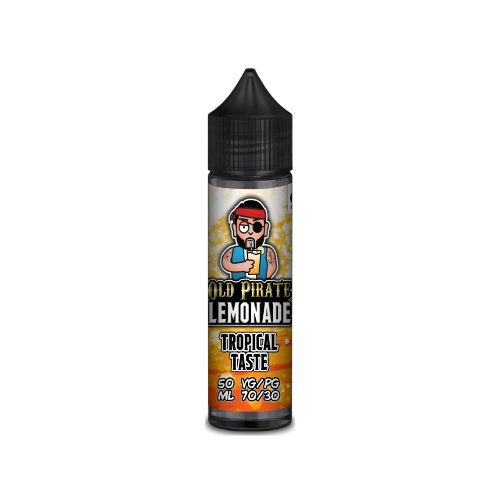 Old Pirate Lemonade Tropical Taste - 50ml Shortfill E Liquid