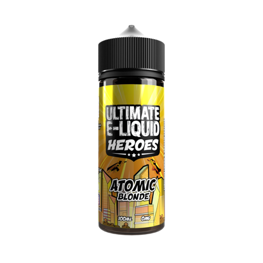 Ultimate E-Liquid Heroes Atomic Blonde - 100ml Shortfill E Liquid