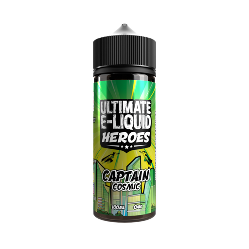 Ultimate E-Liquid Heroes Captain Cosmic - 100ml Shortfill E Liquid