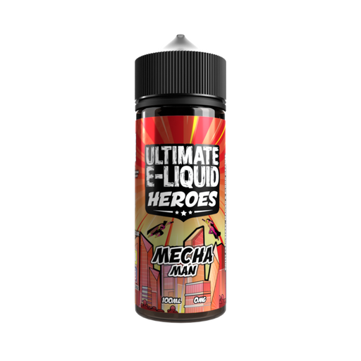 Ultimate E-Liquid Heroes Mecha Man - 100ml Shortfill E Liquid