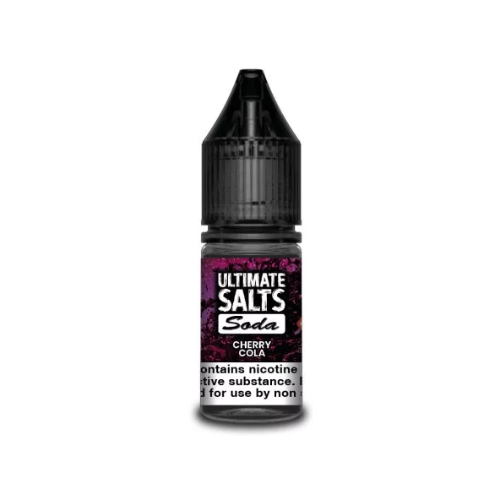 Ultimate E-Liquid Soda SALT Cherry Cola - 10 ml Nic Salt E liquid