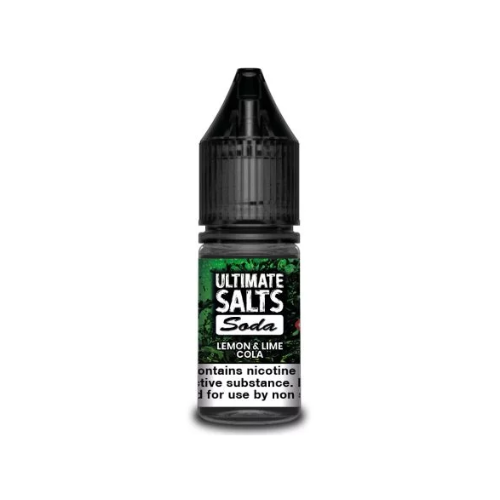 Ultimate E-Liquid Soda SALT Lemon Lime Cola - 10 ml Nic Salt E liquid
