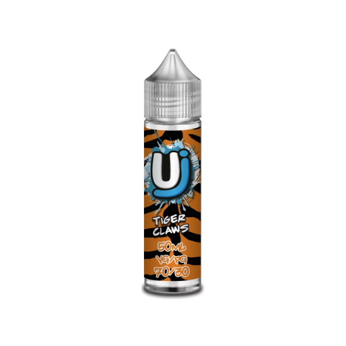 Ultimate Juice Tiger Claws - 50 ml Shortfill E-Liquid