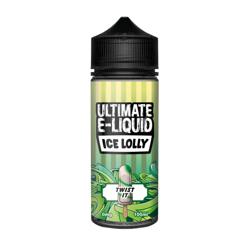Ultimate E-Liquid Ice Lolly Twist It - 100ml Shortfill E Liquid