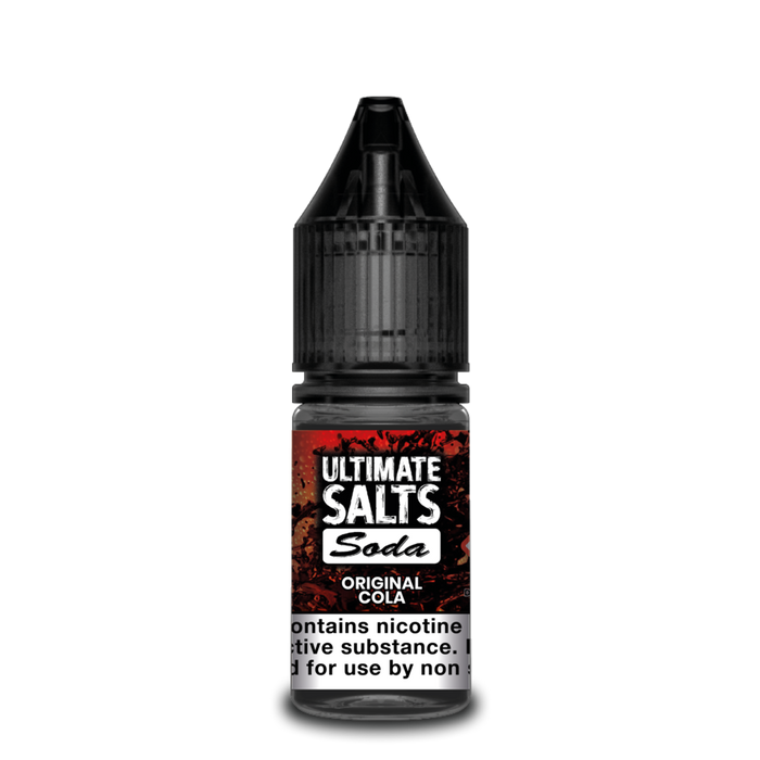 Ultimate E-Liquid Soda SALT Original Cola - 10 ml Nic Salt E liquid