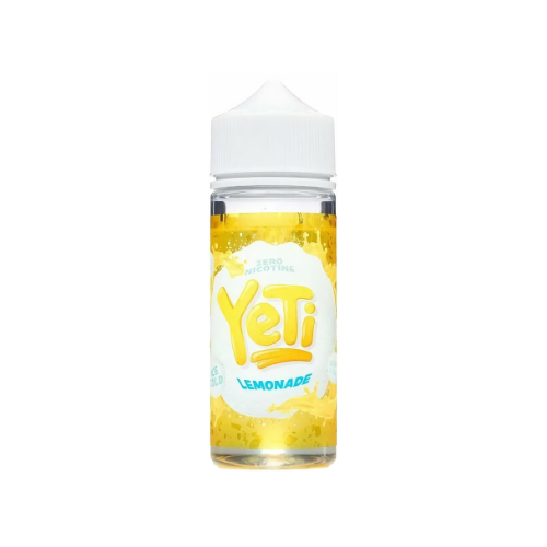 Yeti Ice Cold Lemonade - 100 ml Shortfill E Liquid