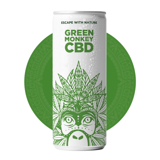 Green Monkey Original - 10mg CBD 250ml Soft Drink