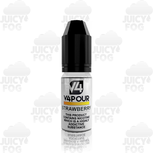 V4POUR Strawberry - 10 ml E liquid