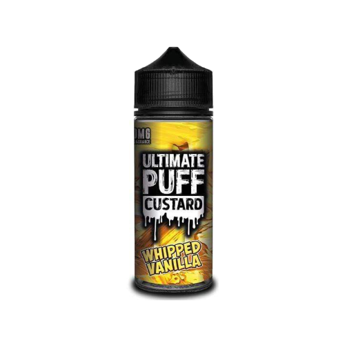 Ultimate Puff Custard Whipped Vanilla - 100ml Shortfill E Liquid