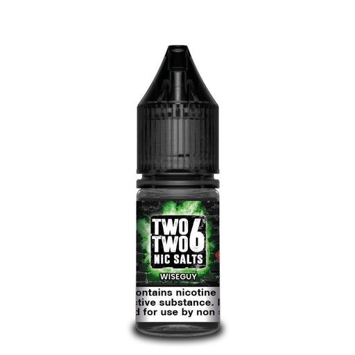 Two Two 6 Nic Salt Wise Guy - 10 ml Nic Salt E liquid