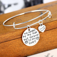 Forever In My Heart Dog Bracelet