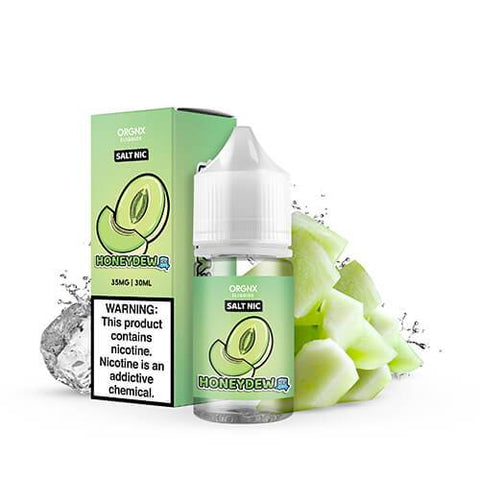 Orgnx Eliquids SALT - Honeydew Ice