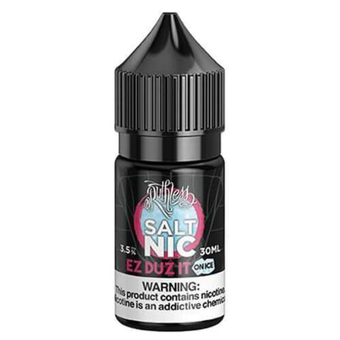 Ruthless Nicotine Salt - EZ Duz it On Ice Nicotine Salt Eliquid