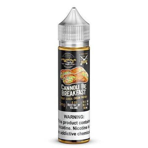 Cassadaga Liquids - Cannoli Be Breakfast