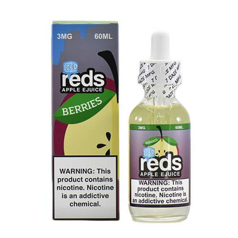 Reds Apple EJuice - Reds Berries ICED