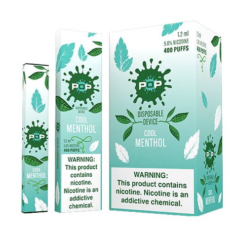 POP - Disposable Vape Pen - Cool Menthol