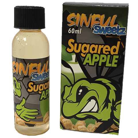 Sinful Sweetz E-Liquid - Sugared Apple