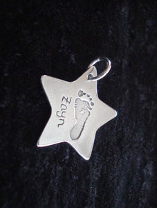 Star Hand And Foot Charm