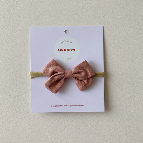 Dusty Pink | Frankie Hair Bow