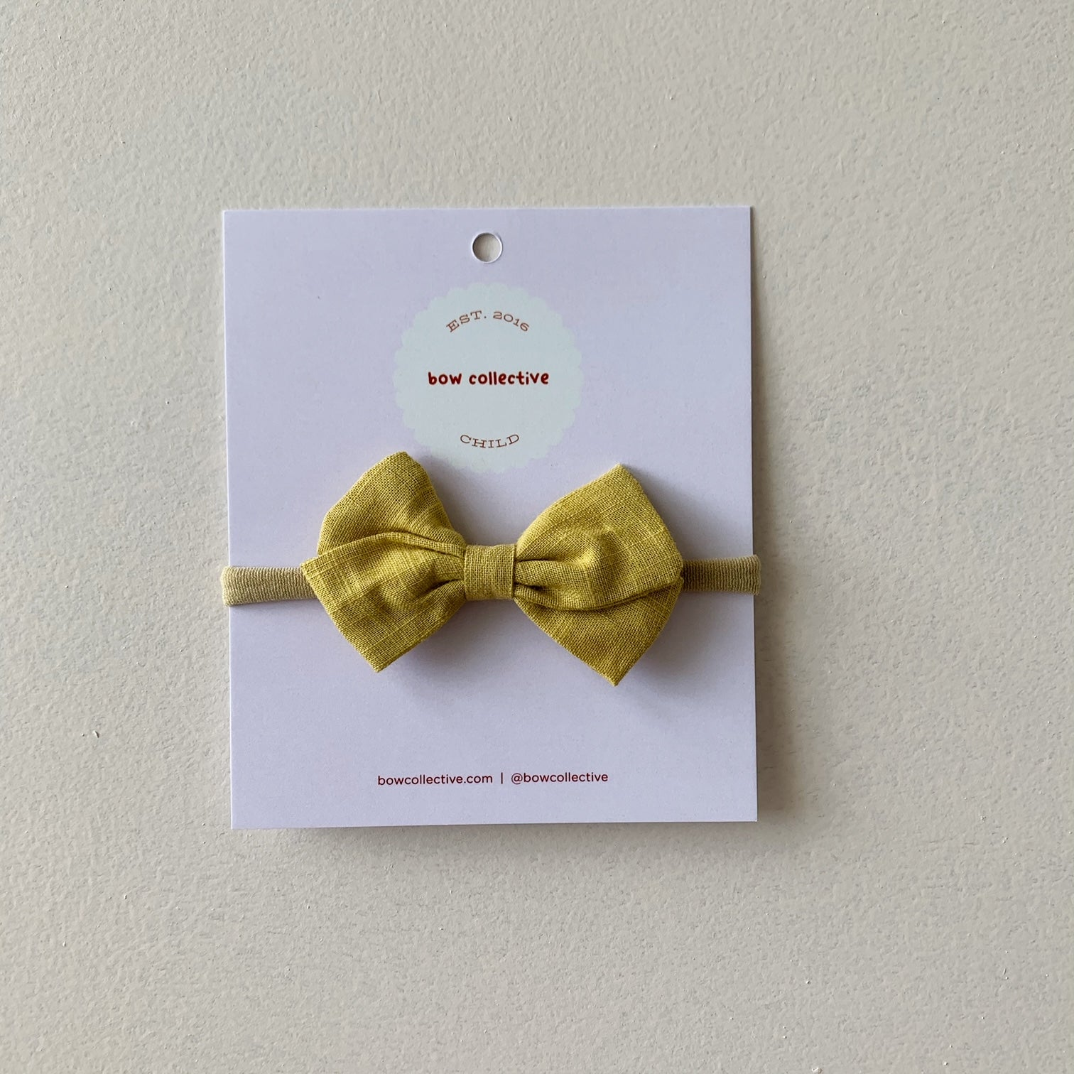Mustard | Frankie Hair Bow