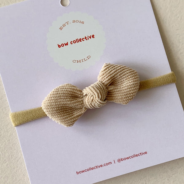Light Caramel | Gigi Knot Bow